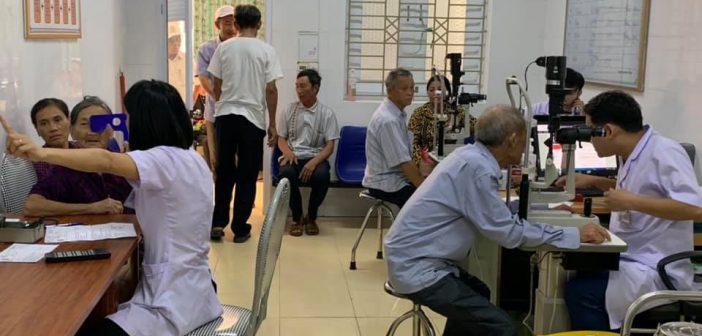 Những ca mổ mắt thành công tại Hà Tĩnh, ngày 10-11 tháng 4 năm 2019